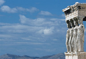 Caryatids on the Acropolis