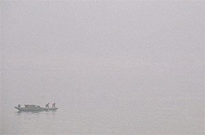 Fog on the Yangtze River