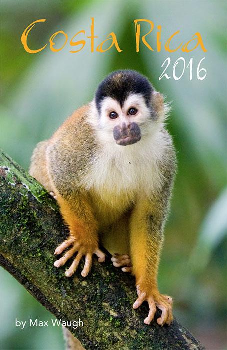 2016 Costa Rica Calendar