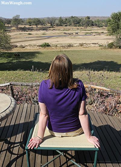Watching elephants at MalaMala