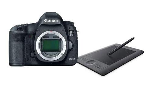 5D Mark III + Wacom Tablet