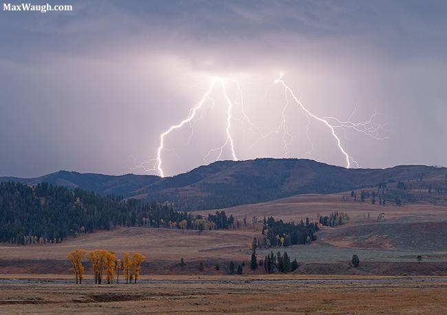 Lamar Valley Lightning