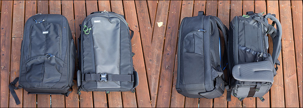 StreetWalker HD and FirstLight 30L