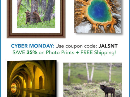 CYBER MONDAY: Get 35% Off Photo Prints + FREE Shipping