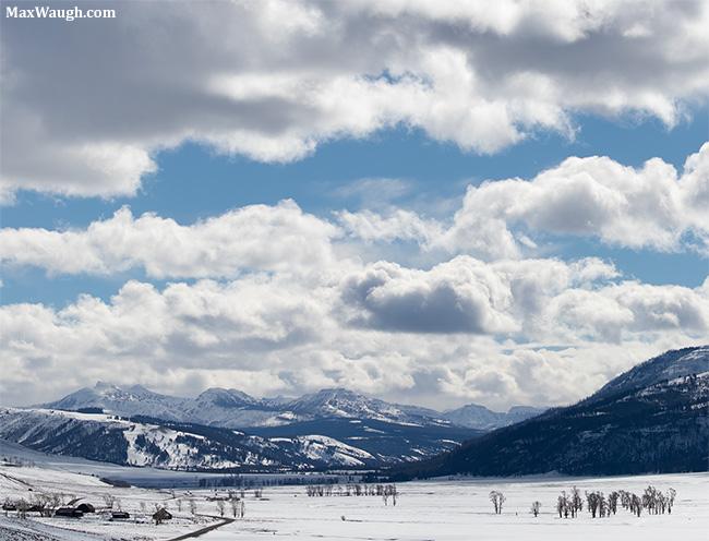 Lamar Valley in winter