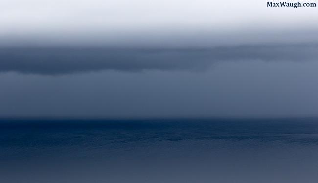 Storm over Yellowstone Lake