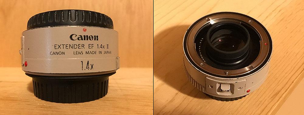 Canon 1.4x teleconverter