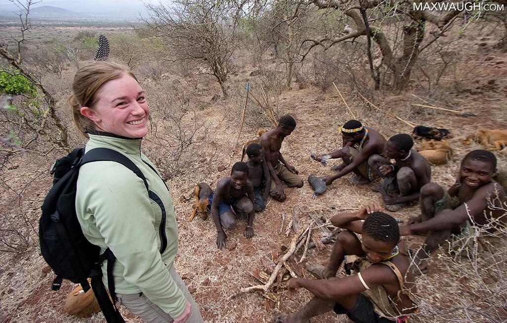 Jenn in Tanzania