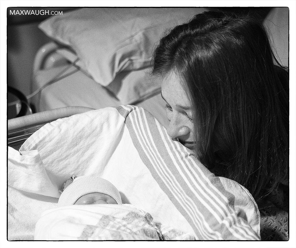 Jenn and baby
