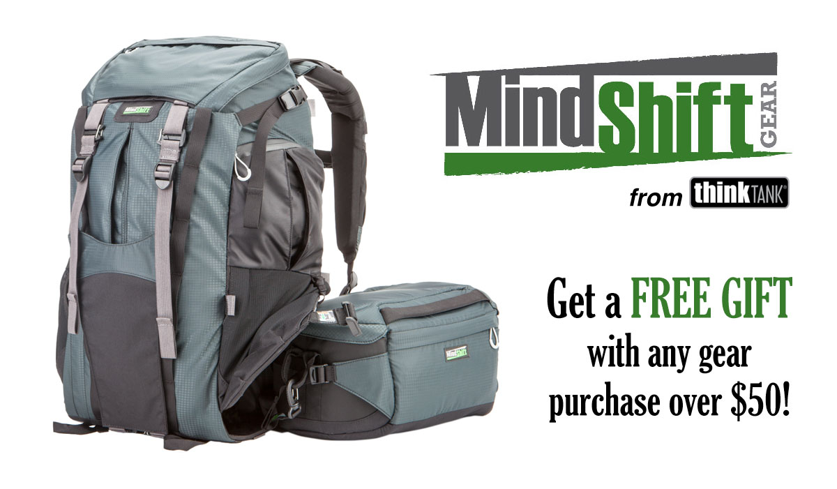 Free Gift with MindShift Gear Purchase