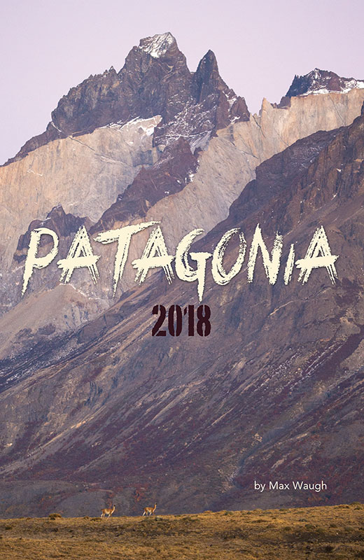 2018 Patagonia calendar cover