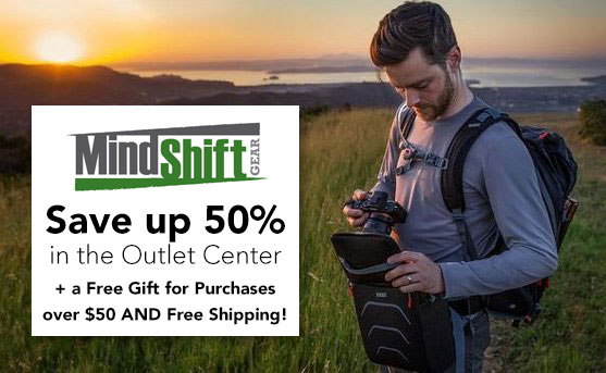 MindShift Gear Outlet Center Deals