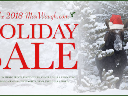 2018 Holiday Sale: Discounts on Photo Prints & Photo Tours, plus Calendars, Gifts, Used Gear