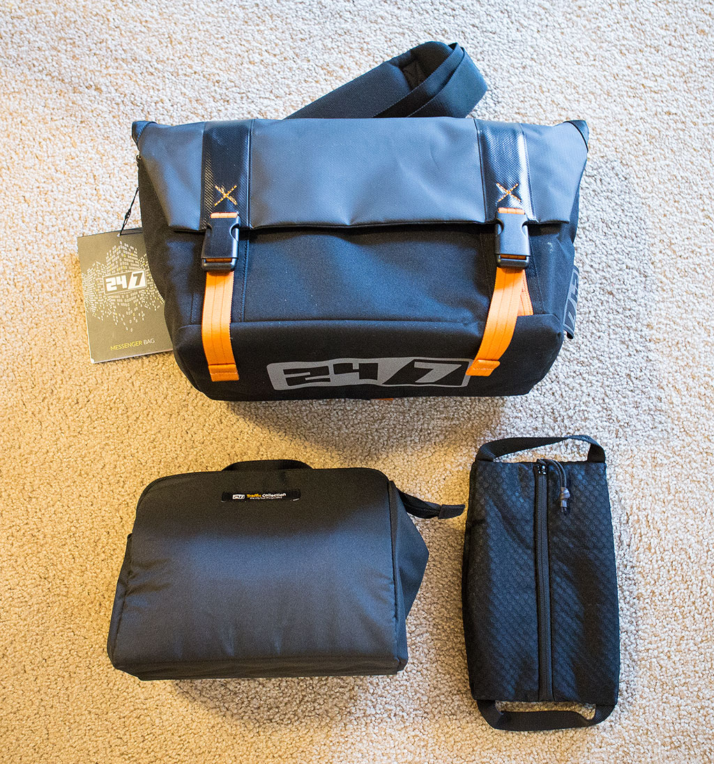 24/7 Messenger Bag Collection