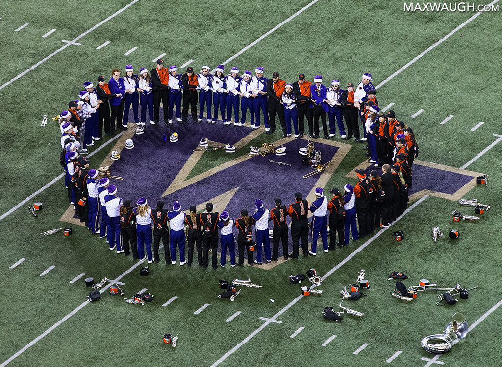 Husky and Oregon State Bands