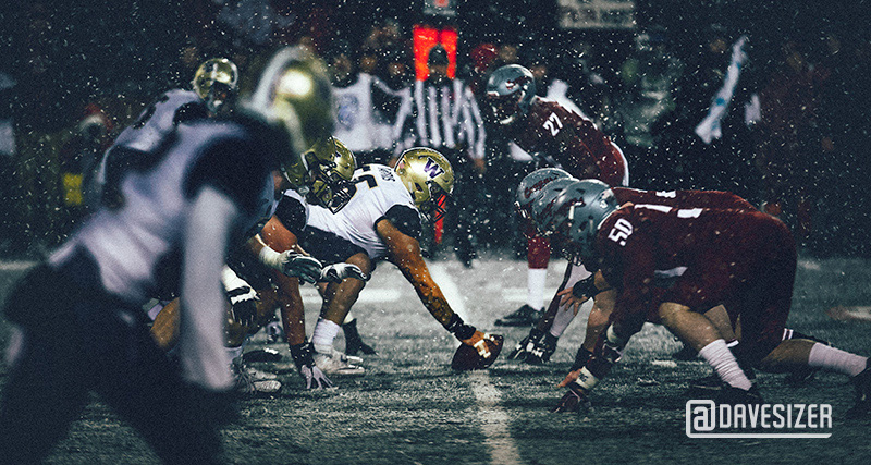 Apple Cup trenches by Dave Sizer