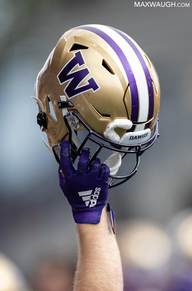 Husky Football Helmet