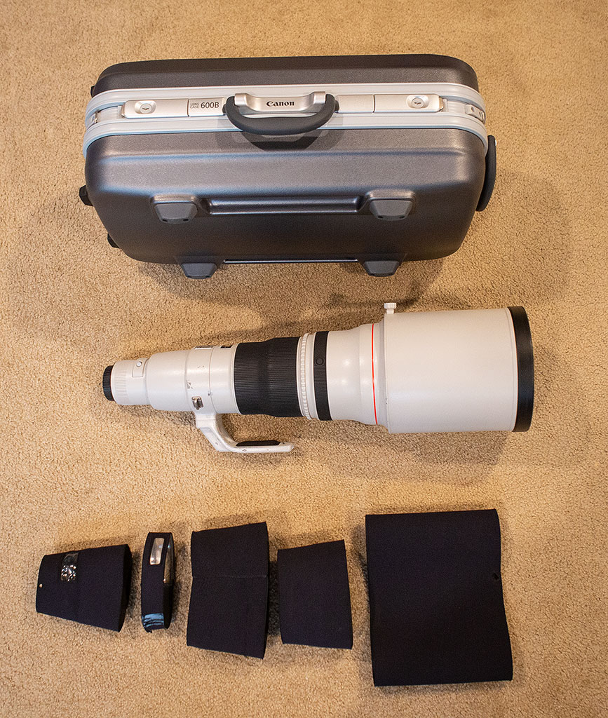 Canon 600mm f/4 IS vII lens for sale