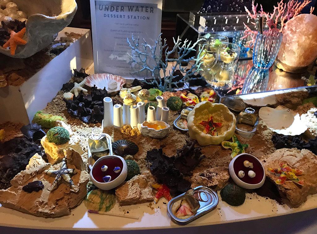 WPY dessert buffet