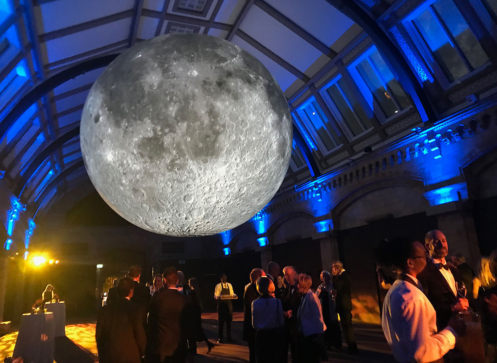 Museum of the Moon, by Luke Jerram