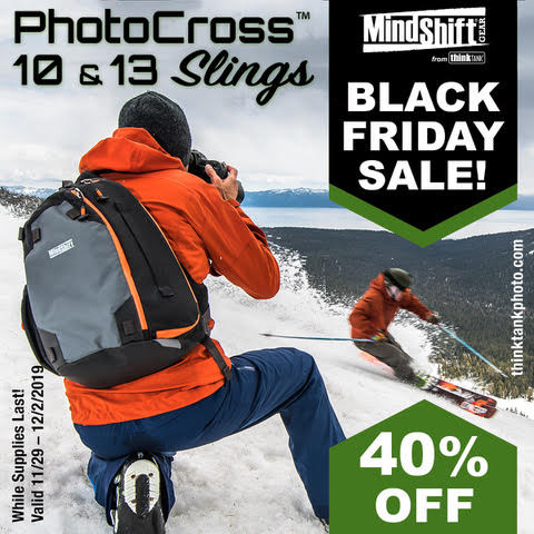 2019 MindShift Gear Black Friday Sale