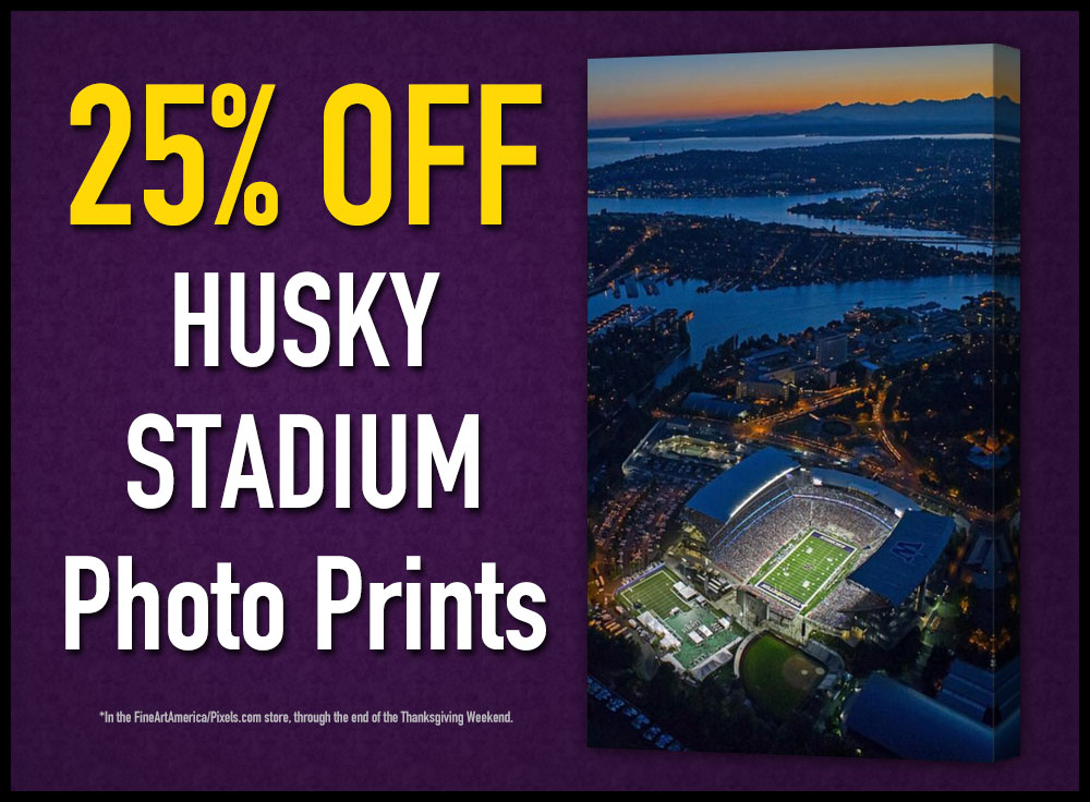 25% Off Husky Stadium Prints