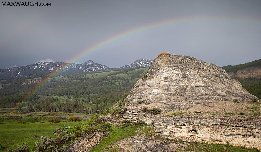 Rainbow and Soda Butte