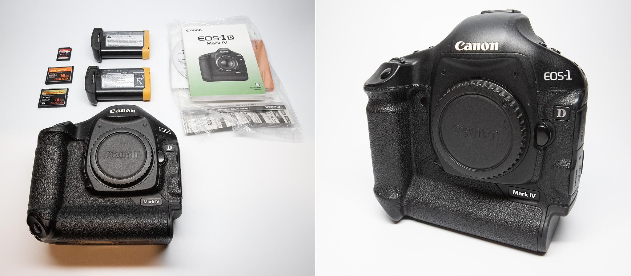 Canon 1D Mark IV camera body