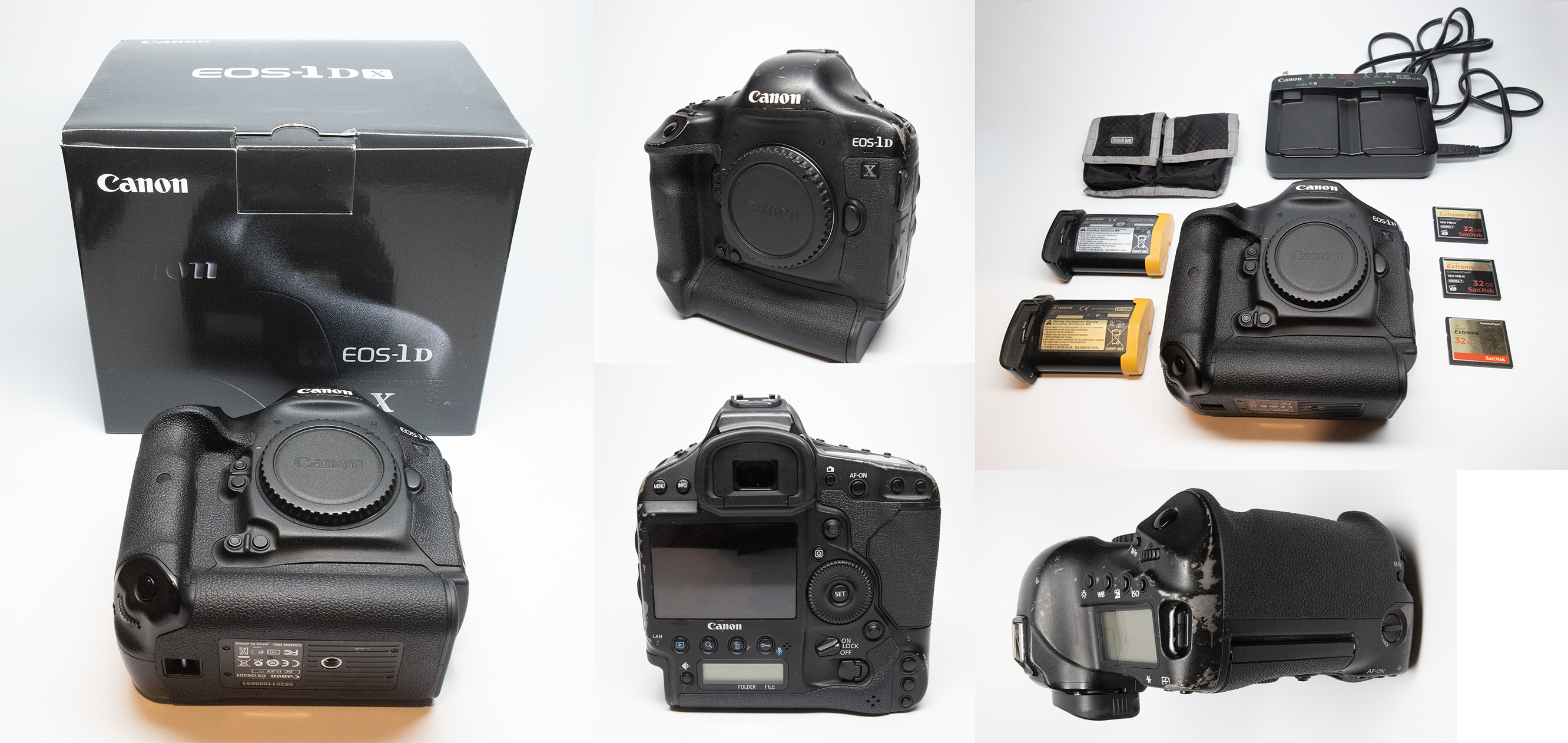 Canon 1DX body for sale