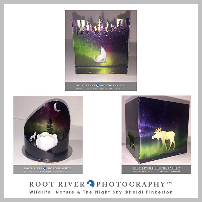 Candle Holders by Root River Photography