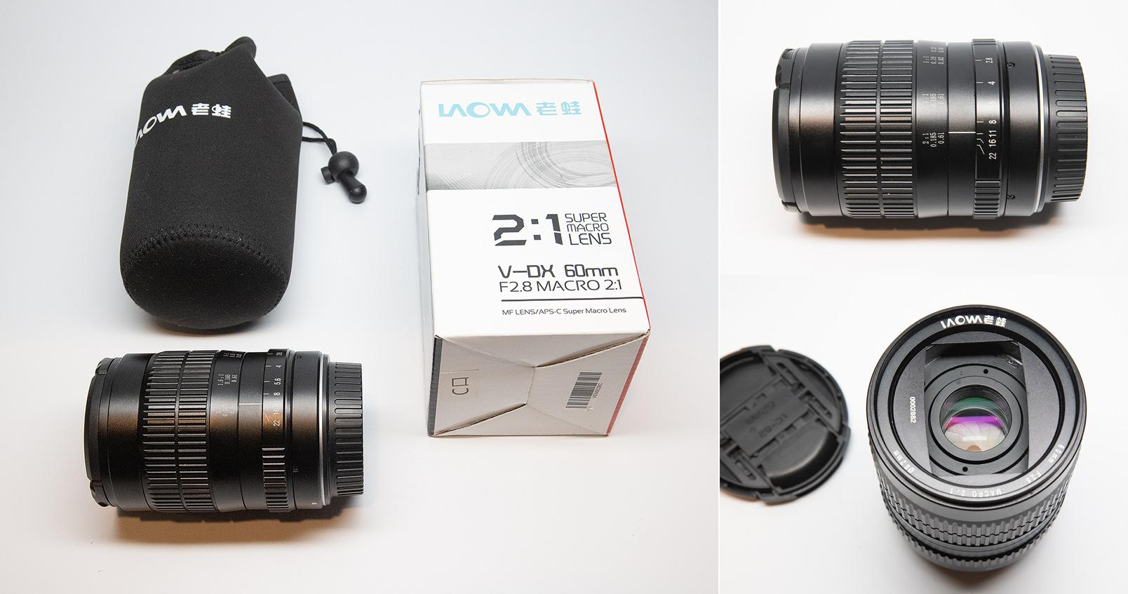 Venus Optics 60mm super macro lens