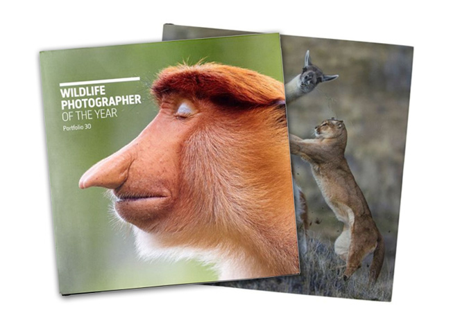Wildlife Photographer of the Year books