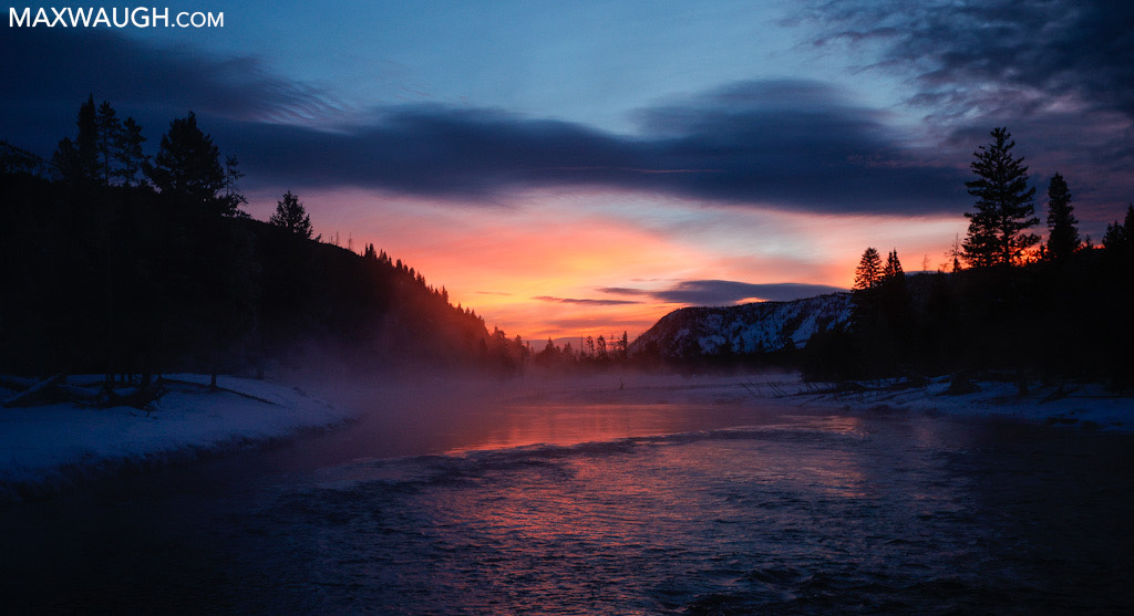 Sunrise on the Madison River