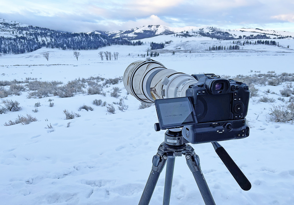 Shooting video with the Gitzo GHFG1 gimbal fluid head