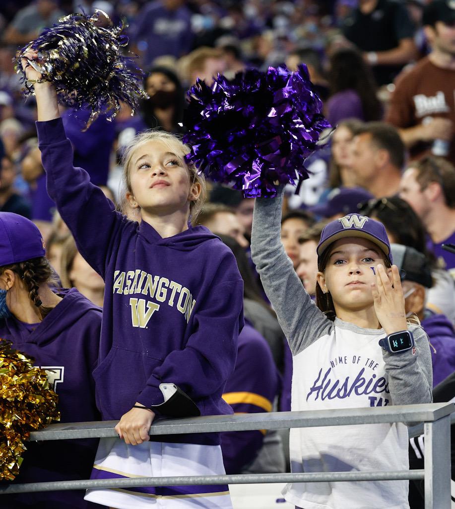 Husky fans